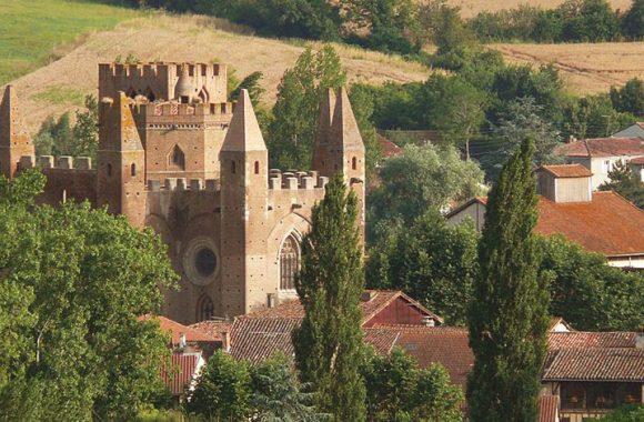 L'église fortifiée de Simorre