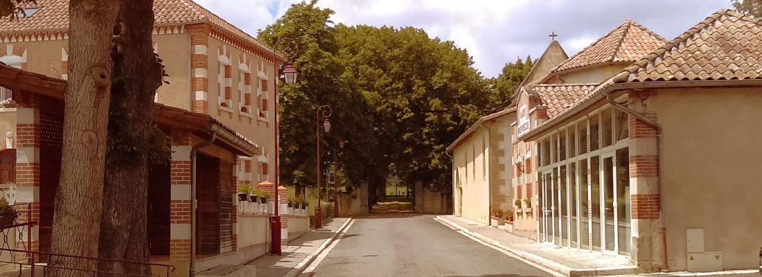 La mairie de Devèze